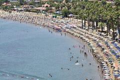 Strandurlaubsort Stockfoto