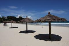 Strandurlaubsort lizenzfreies stockbild