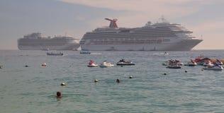 Strandurlaubsort Karibischer Meere, Mexiko Stockfotos