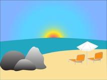 strandvektor Arkivbilder