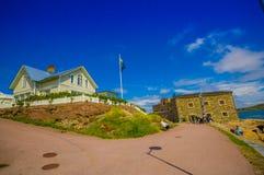 Strandverket art museum in Marstrand, Sweden Royalty Free Stock Images