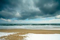 strandvinter Arkivbild