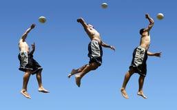 Strandvolleyball Lizenzfreies Stockfoto