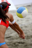 Strandvolleyball Stockfoto