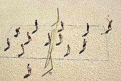 Strandvolleyball stockbild