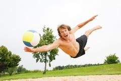 strandvolleyboll Royaltyfri Foto