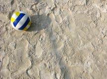 strandvolleyboll Arkivbilder