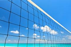 Strandvolleyboll förtjänar Arkivbild