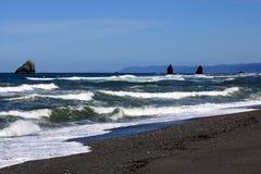 strandwaves Royaltyfri Foto