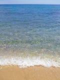 strandwaves Arkivfoto
