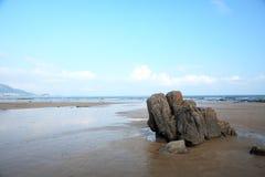 strandwaves Royaltyfri Bild