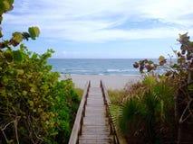 Strandweg Stock Afbeelding
