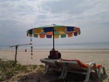 Strandzeit Stockbild
