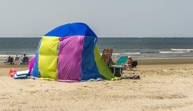 Strandzelt stockbild