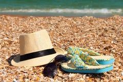 Strandzubehör Lizenzfreies Stockfoto