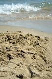 Strandzusammenfassung lizenzfreies stockbild