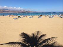 Strang Der Canteras im Las Palmas Stockfotografie