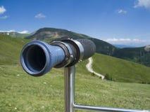 Strange binoculars Royalty Free Stock Image