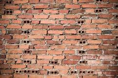 Strange brick wall Royalty Free Stock Image