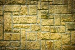 Strange brickwall Stock Images