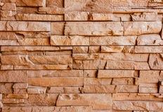 Strange brickwall Stock Image