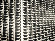 Strange building closeup Stock Photo