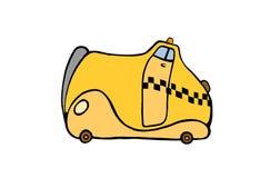 Strange cab Royalty Free Stock Images