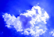 Strange cloud Stock Photo