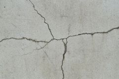 Strange cracking concrete wall texture background Royalty Free Stock Images