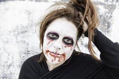 Strange and crazy girl Stock Photo