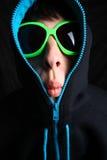 Strange face Stock Image