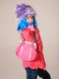 Strange Fashion Child stock photography