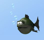 Strange fish Royalty Free Stock Images