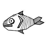 Strange_fish fotografía de archivo libre de regalías