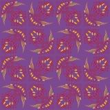 Strange futuristic psychedelic pattern Stock Photography