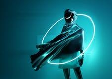 Free Strange Futuristic Space Women Concept Royalty Free Stock Photo - 140588595
