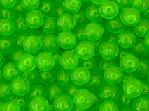 Strange green spheres Stock Images