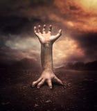 Strange human hand Stock Photography