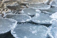 Free Strange Ice Circles Stock Image - 159445451