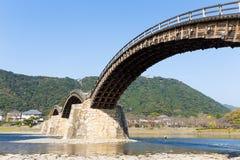 Strange Kintai Bridge Stock Image