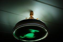 Strange lamp decoartion royalty free stock images