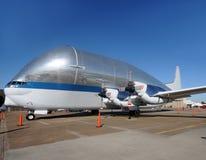 Strange looking transport airplane Royalty Free Stock Photos