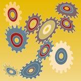 Strange mechanism (vector) Royalty Free Stock Photo