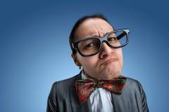 Strange nerd-girl Stock Photo