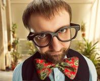 Strange nerd Stock Images