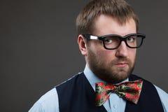 Strange nerd Stock Photos