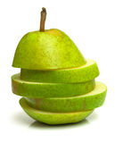 Strange pear Royalty Free Stock Photography