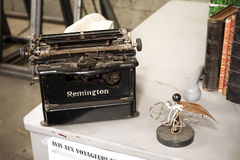 Strange Remington machine Royalty Free Stock Photo
