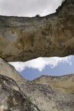 Strange Rock formation near the town of Shumen, Bulgaria, named Okoto. (The Eye Royalty Free Stock Photos