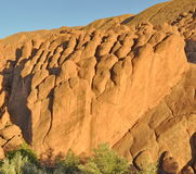 Strange rock formations in Dades Gorge, Morocco Royalty Free Stock Photo